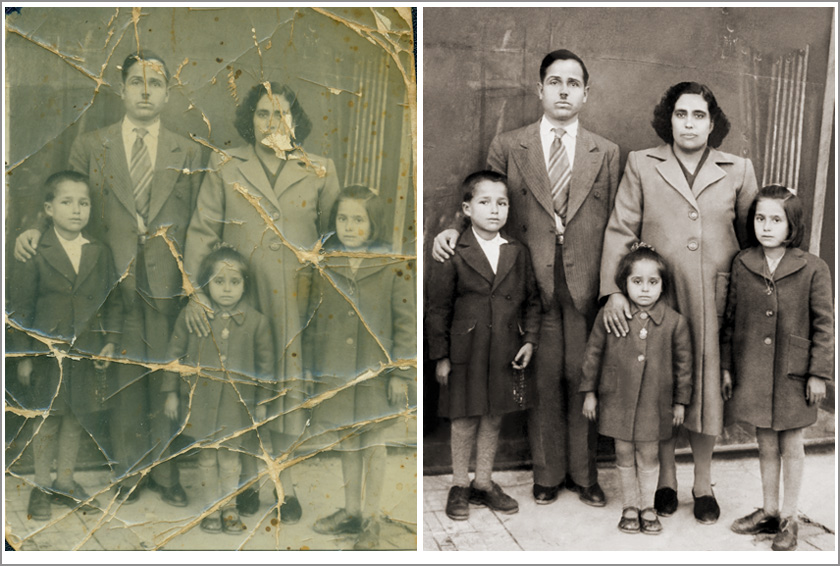 Photo Restoration by Carol Heath, Pixel By Pixel