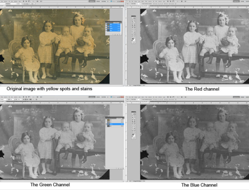 Top Tips for Restoring Photographs