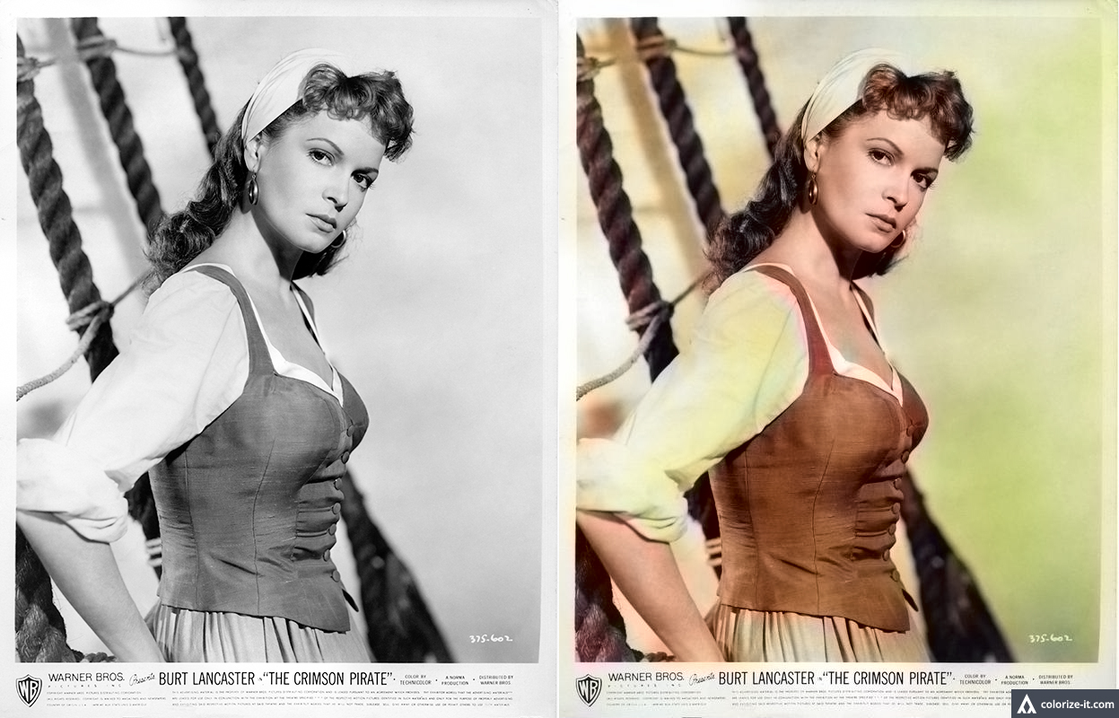 Photo colourised using Algorithmia