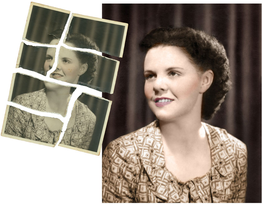 Photo Restoration tutorial by Carol Heath, Pixel By PIxel